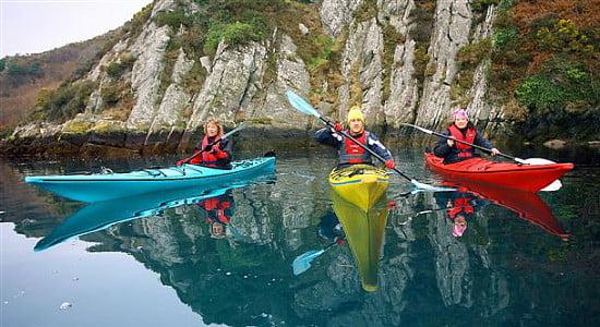 Sea Kayaking in West Cork with Atlantic Sea Kayaking